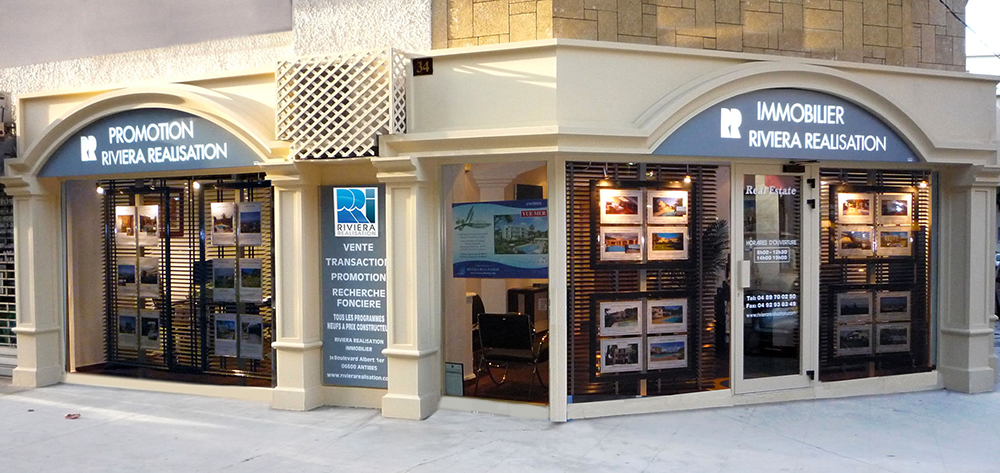 Agence immobiliere Antibes